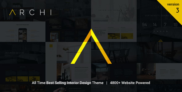 Archi v3.6.6 - Interior Design WordPress Theme