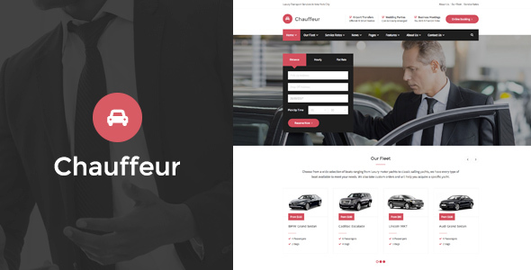 Chauffeur v1.2.5 - Limousine, Transport And Car Hire WP Theme