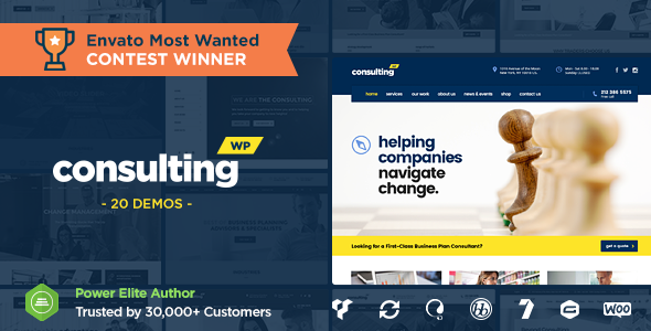 Consulting v3.7.7 - Business, Finance WordPress Theme