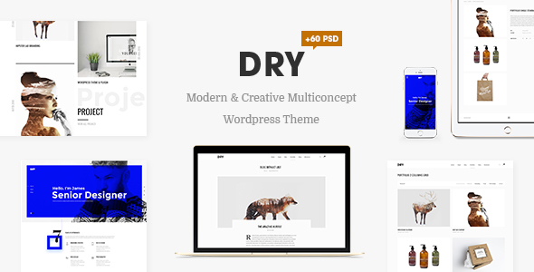 DRY - Modern & Creative Multiconcept Theme