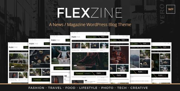 FlexZine v1.0 - A WordPress Magazine Theme