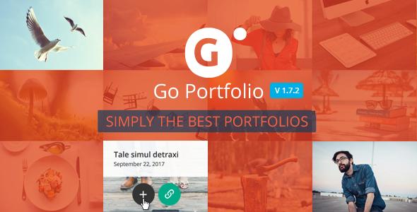 Go Portfolio v1.7.2 - WordPress Responsive Portfolio