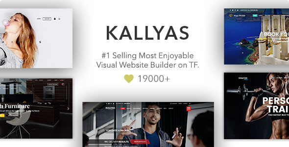 KALLYAS - Responsive Multi-Purpose WordPress Theme v4.15.3