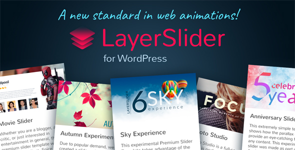 LayerSlider v6.5.8 - Responsive WordPress Slider Plugin