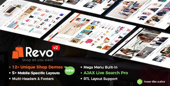 Revo v2.1.0 - Multi-Purpose Responsive WooCommerce Theme