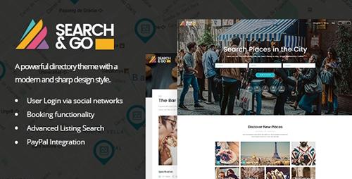 Search & Go - Modern & Smart Directory Theme v1.9