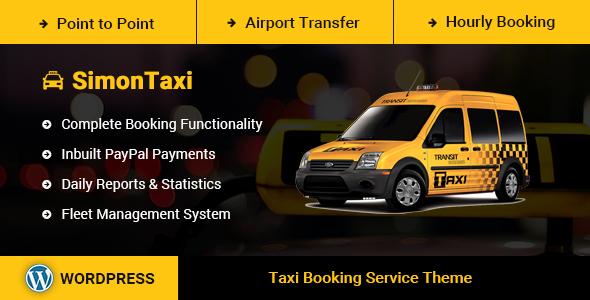 SimonTaxi v1.0 - Taxi Booking WordPress Theme