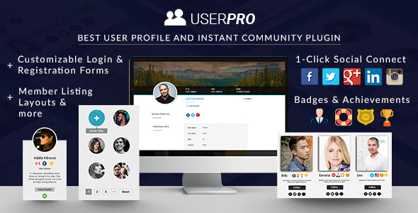 UserPro v4.9.15 - User Profiles with Social Login