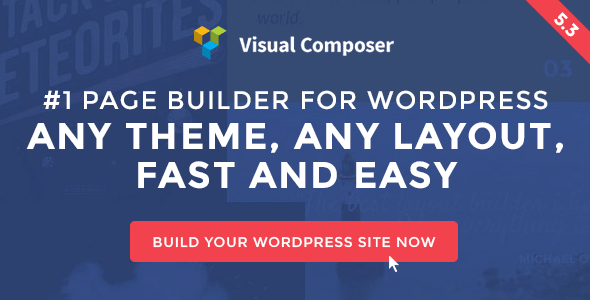 Visual Composer v5.3 - Page Builder for WordPress
