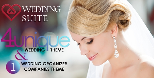 Wedding Suite v2.6.2 - WordPress Wedding Theme