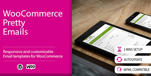 WooCommerce Pretty Emails v1.8.5