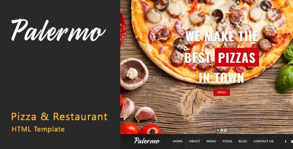 Palermo - Pizza & Restaurant HTML Template