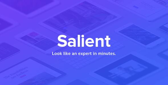 Salient v8.5.0 - Responsive Multi-Purpose Theme