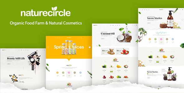 NatureCircle v1.0 - Organic Responsive Magento Theme