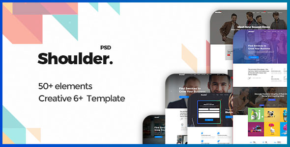 Shoulder v1.0 - Multi-Purpose Consulting - Business, Finance PSD