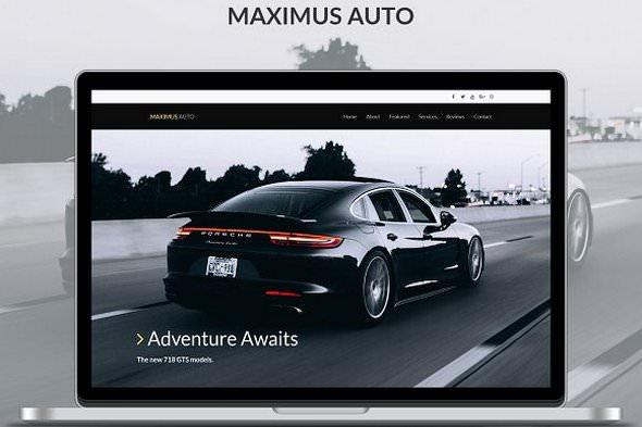 Maximus - Auto Bootstrap Theme