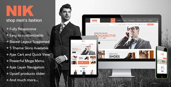 Nik v1.0.3 - Responsive Magento Fashion Theme