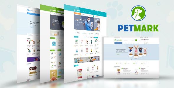 PetMark v1.0 - Pet Care, Shop & Veterinary Magento 2 Theme