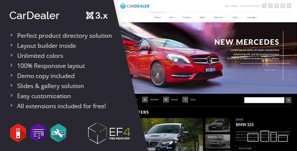 Car Dealer v1.04 - multipurpose product directory