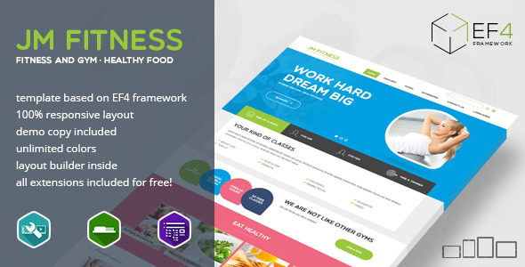 Fitness v1.02 - Gym, Fitness and Healthy Lifestyle Theme