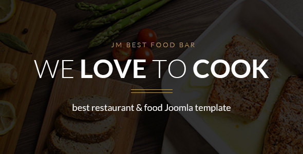 JM Best Food Bar v1.03 - restaurant and food Joomla template