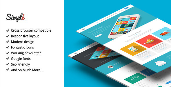 Simple v2.1 - Responsive Landing Page Template