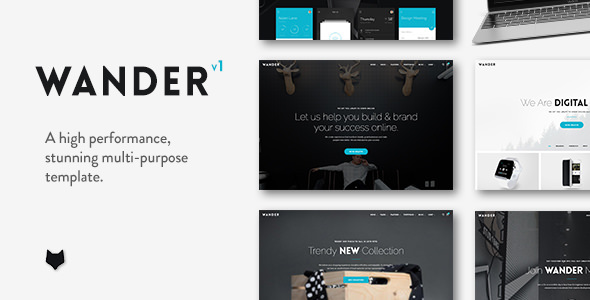 Wander v1.1.2 - The Multi-Purpose Template