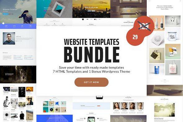 Website Templates Bundle