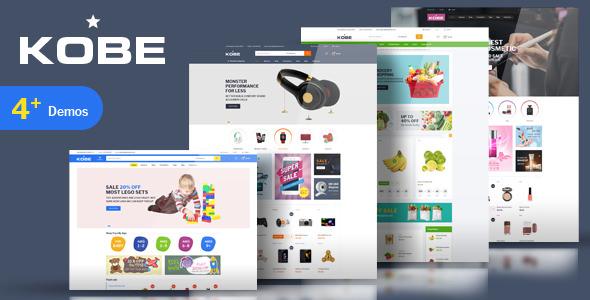 Kobe v1.0 - Multi Store Responsive Magento Theme