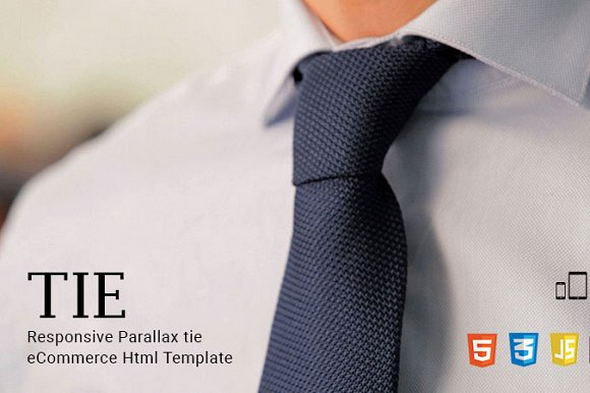 Tie v1.0 - eCommerce Html Template