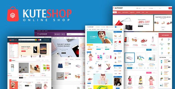 KuteShop v1.0 - Multipurpose Responsive Magento 2 Theme