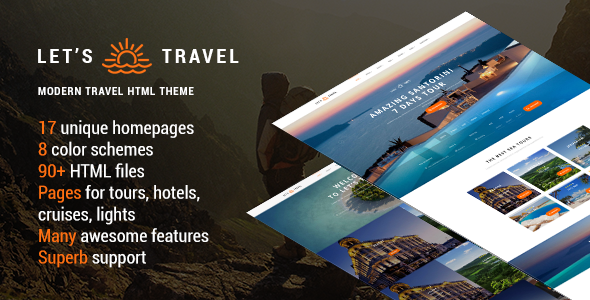 Let's Travel v1.1.1 - Responsive Travel Booking Site Template