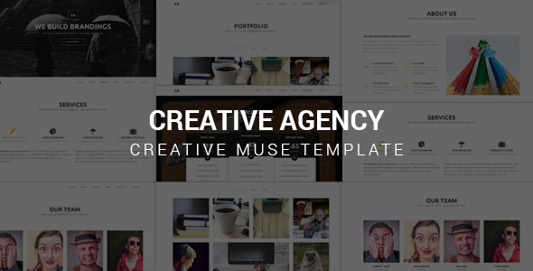 Creative Agency v1.0 - Muse Template