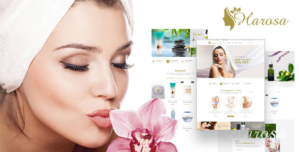 Harosa - Cosmetics and Beauty Prestashop Theme