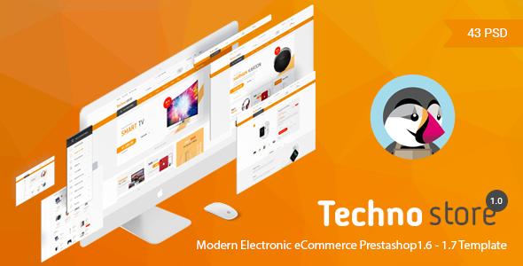 Technostore v1.0 - Responsive Prestashop 1.6 & 1.7 Theme
