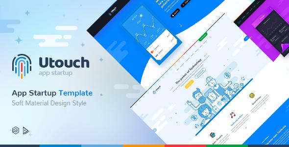 Utouch Startup v1.0.1 - Multi-Purpose Business Technology Joomla Template
