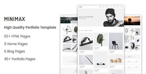 Minimax - Minimal Portfolio Template