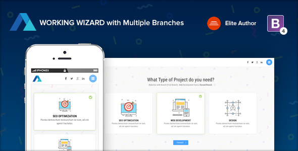 STEPS v1.2 - Multipurpose Working Wizard with Branches